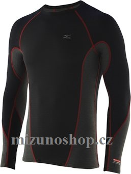 Mizuno Jacquard Virtual Body L/S Crewne 73CF04196 vel. S