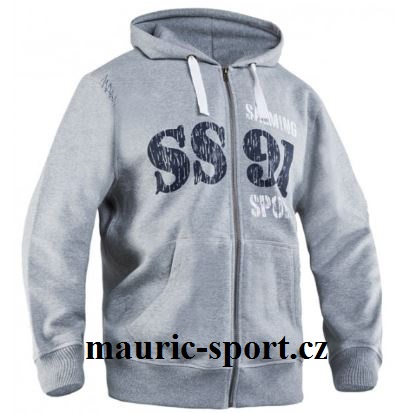 SALMING King Hood Zip Grey