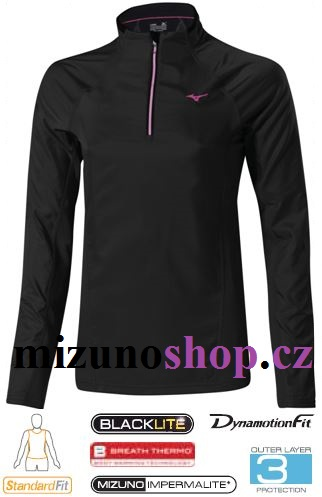 Mizuno Breath Thermo Wind Top J2GC470109