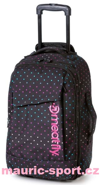 Meatfly Revel Trolley Bag B 40L - Rainbow Print