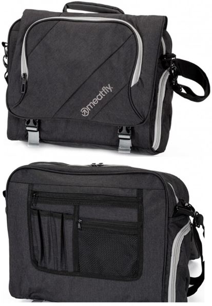 Messenger Meatfly Geller Bag A - Black