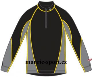 Mizuno Thermo Virtual Body Long Sleeve 1/2 Zip Shirt 73CF06094